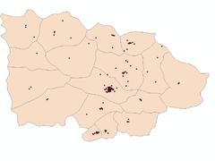 「GIS教程」使用 ArcGIS 统计特定区域内点数(附数据下载)
