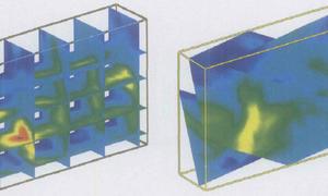 流场任意剖面云图的可视化生成算法