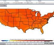 一款美国全国气候变化观察工具