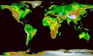GIS基础-DEM地形可视化的应用
