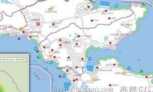 专题地图中专题要素的表示法