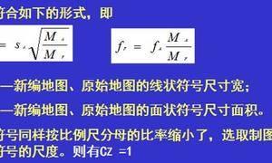 制图综合的方根模型(开方根规律)