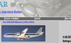使用JavaScript脚本批量下载AirSAR数据