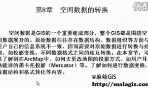 精通ArcGIS第8讲 空间数据转换