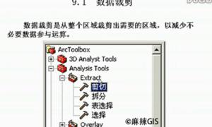 精通ArcGIS第9讲 空间数据处理