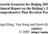Growth Scenarios for Beijing 2020