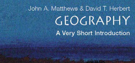 Geography: A Very Short Introduction
