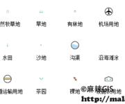 二调(第二次全国土地调查)ArcGIS符号库分享