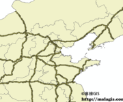 「GIS数据」中国主要公路数据下载(shp格式)