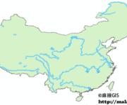「GIS数据」中国一级河流及湖泊矢量数据下载(shp格式)