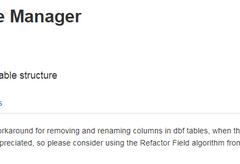 QGIS操作教学视频(8)使用Table Manager编辑矢量图层字段属性
