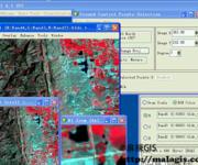 ENVI基础操作教学视频(8)TM图像校正(矢量上选点)
