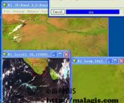 ENVI基础操作教学视频(20)基于GLT的几何校正(风云三号气象卫星为例)