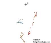 QGIS操作教学视频(22)矢量图层分类显示要素