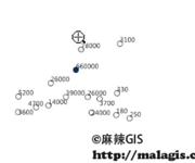 QGIS操作教学视频(23)要素属性渐近颜色显示