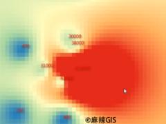 QGIS操作教学视频(25)矢量图层点要素内插成面