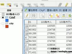 QGIS操作教学视频(44)表格连接(Table join)