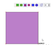 QGIS操作教学视频(53)使用rectangles ovals digitizing插件矢量化矩形、正方形、椭圆