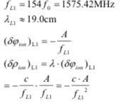 GPS原理应用(6-13)同类型不同频率相位观测值的线性组合