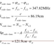 GPS原理应用(6-14)常见的线性组合