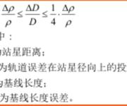 GPS原理应用(6-42)各种误差对相对定位结果的影响