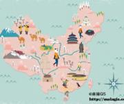 「地图故事」中国县级以上行政区划地名中,哪些字是最常见的?