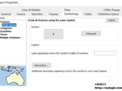 ArcMap根据两个属性信息分别确定符号大小和颜色