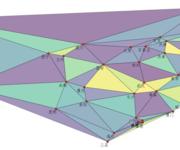 """「地图故事」用delaunay三角网剖析中国各大省会城市的""""影响力范围"""""""