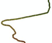 「GIS技巧」在ArcMap中画一条彩虹颜色的路