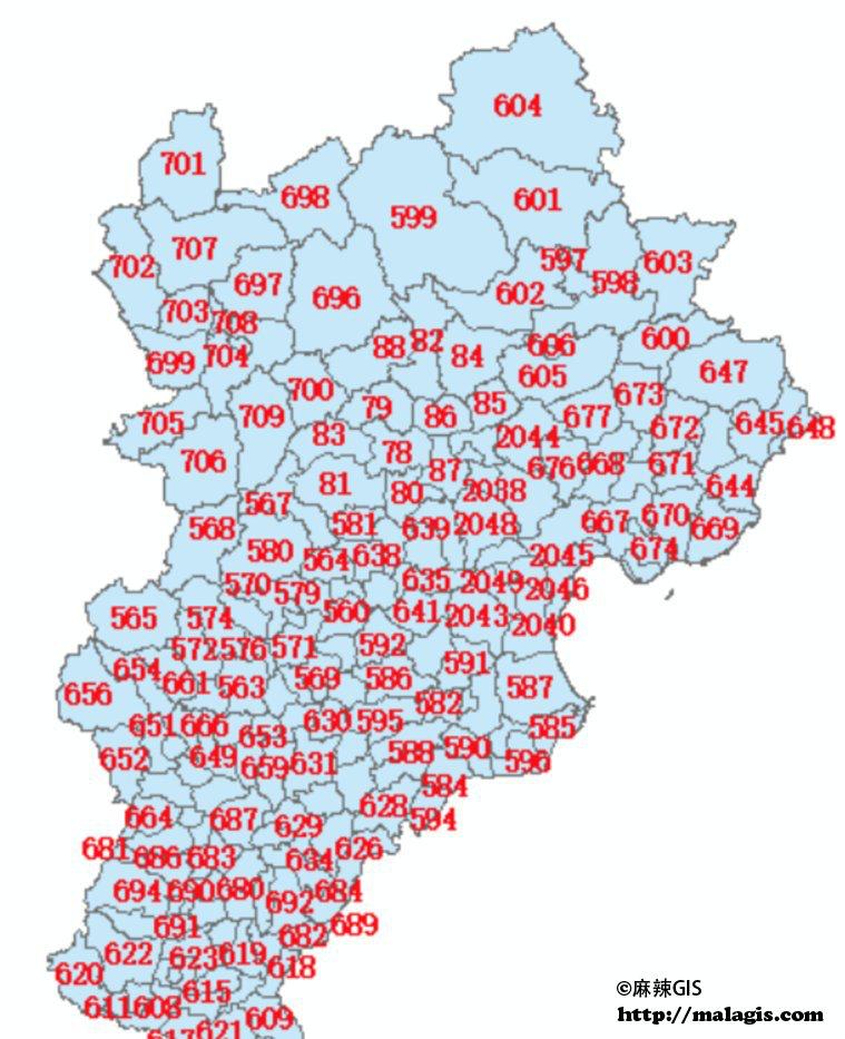 将ID_3标注在地图