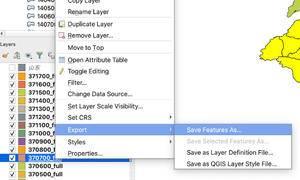 使用QGIS将GeoJSON转换成SHP格式文件