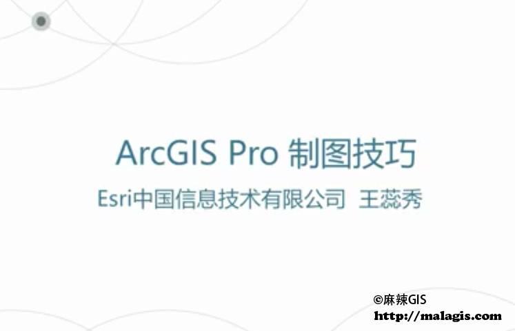 ArcGIS Pro 制图技巧