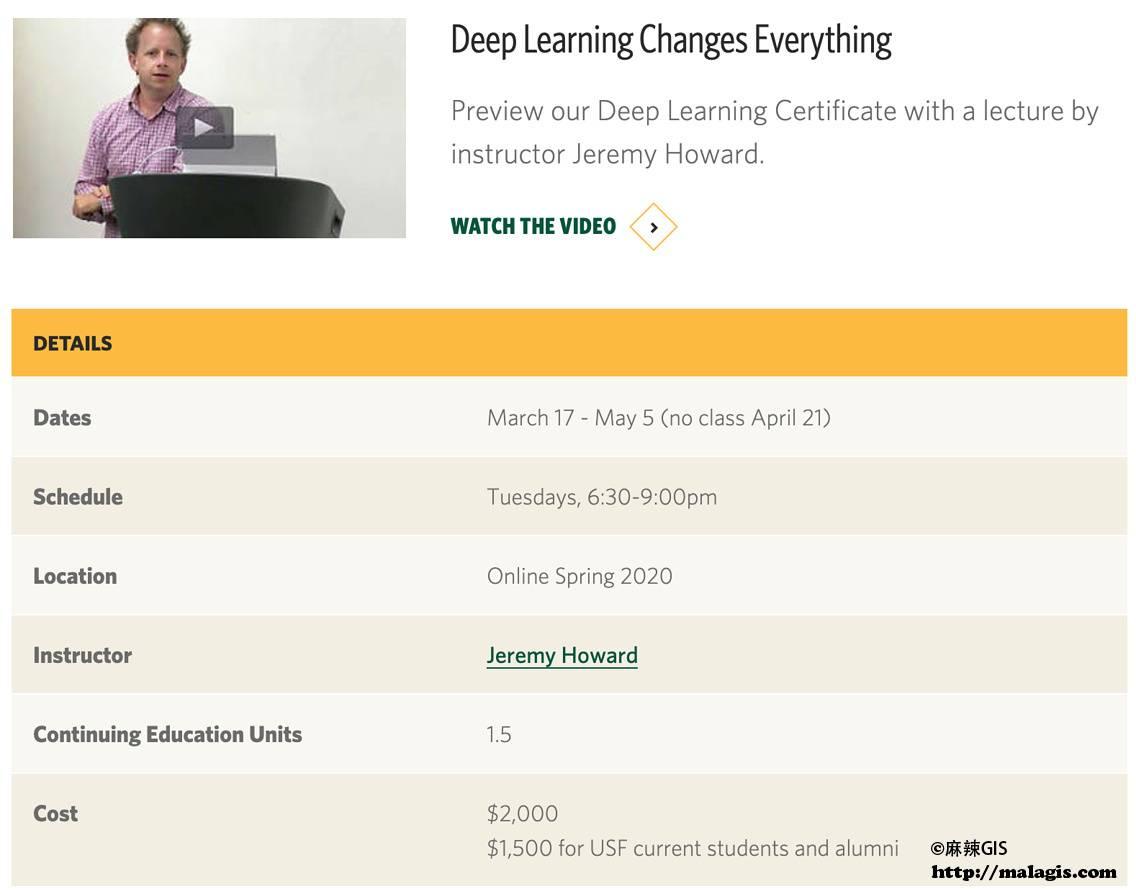 Deep Learning Certificate