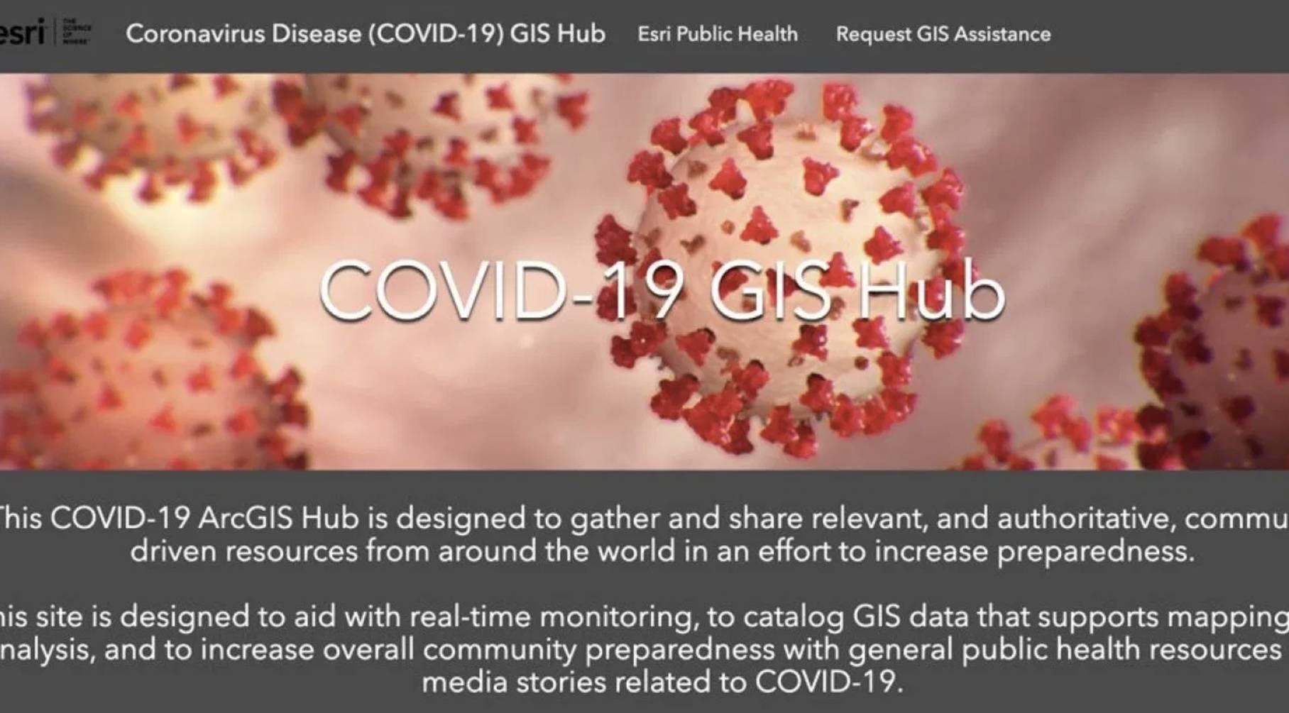 2020 ESRI GIS 公开课之疫情特别版