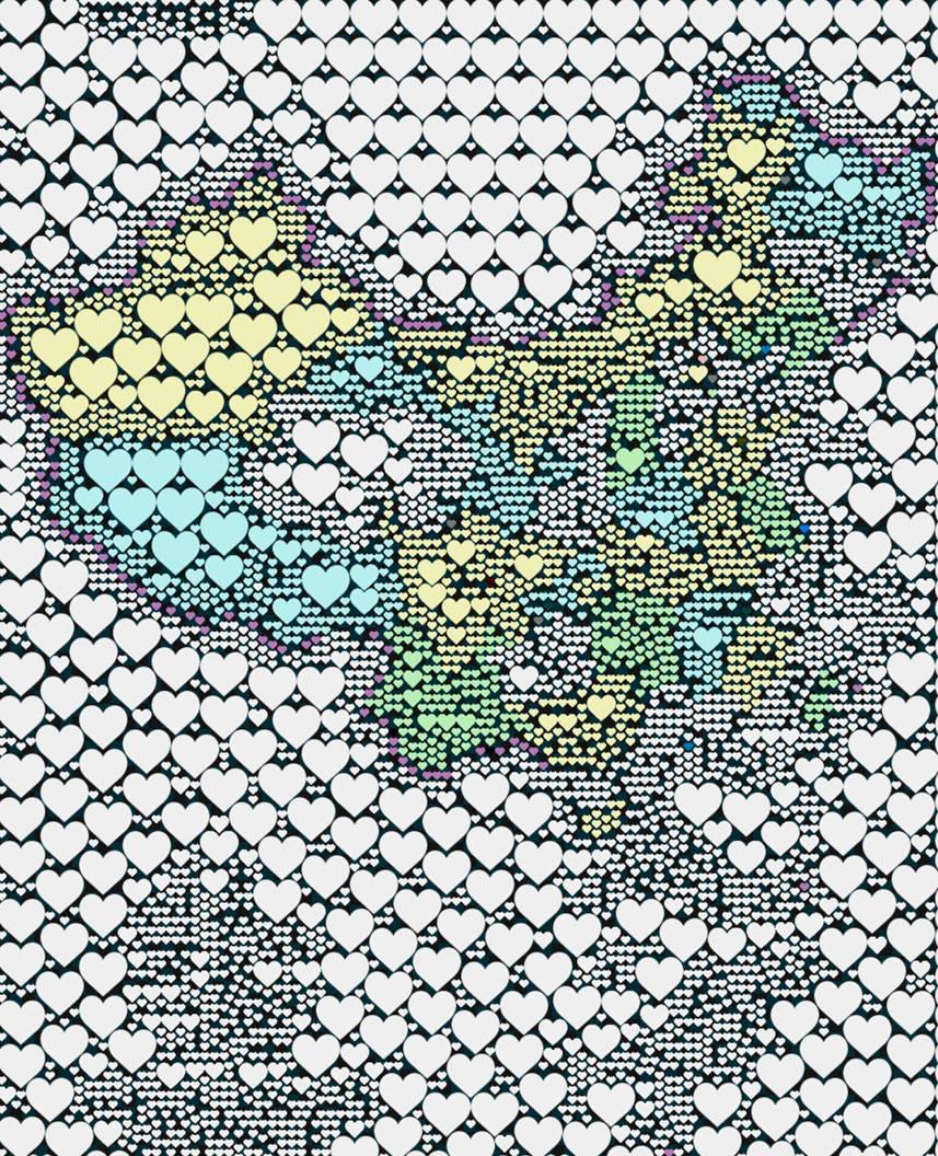 用心版中国地图