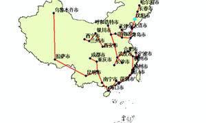「GIS思维」用prim最小生成树看武汉的中心地位