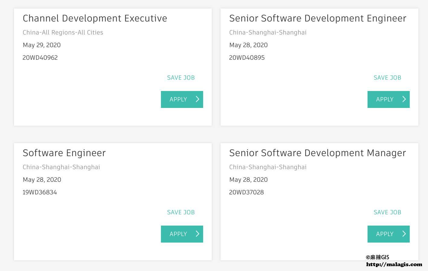AutoDesk中国招聘