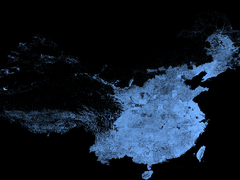 ArcGIS Pro 制图实例赏析(由中国地名构成的壮美地图)