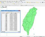 QGIS中文操作手册(6-2)专题图制作(一)基础底图